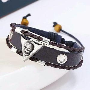 **New  - skull bracelet